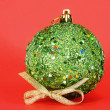 Royalty-Free Stock Photo: Great green christmas globe