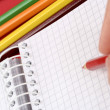 Pencil and agenda — Stock Photo #2589853