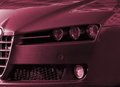 Beautiful car. Great details ! — Stock Photo