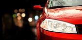 赤い車 — ストック写真