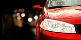 Red car — Zdjęcie stockowe