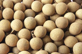 The dried longan, contains the Vitamin fruit richly — Stock Photo