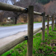 Wooden fence_106 — Stock Photo