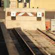 Foto de Stock  : Train stopper
