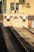 поезд пробка — Стоковое фото