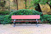 Wooden bench_101 — Stock Photo