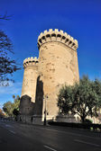 Medievals башни quart — Стоковое фото