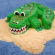Fun Crocodile Cake — Stock Photo #2118911