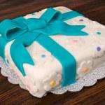 Fondant Gift Cake — Stock Photo #2127403