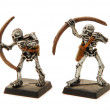 Постер, плакат: Isolated Skeleton Miniatures
