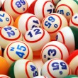 Royalty-Free Stock Photo: Bingo Ball Background