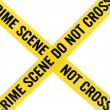 Stock Photo: Crime Scene Tape