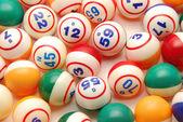 Bingo Ball Background — Stock Photo