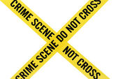 Crime Scene Tape — Stock Photo