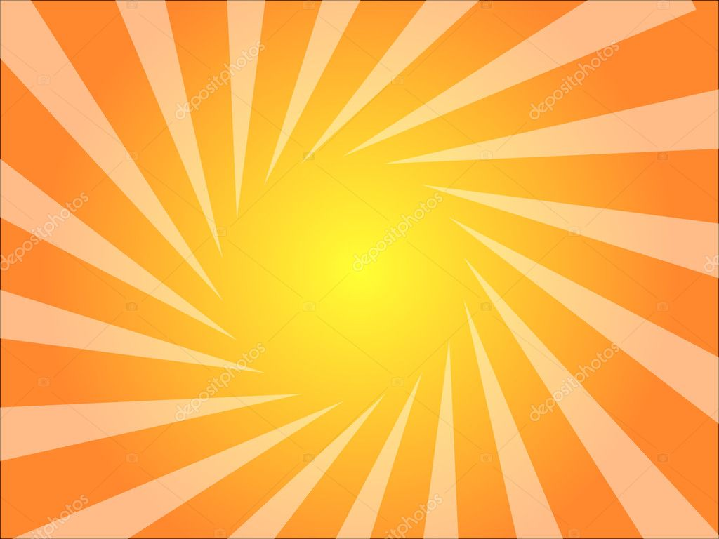 Artistic Background with radial rays   Stock Vector #2623388