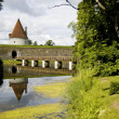 Stock Photo: Kuressare castle bridge