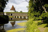 Kuressare castle bridge — Stock Photo