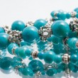 Stock Photo: Turquoise beads