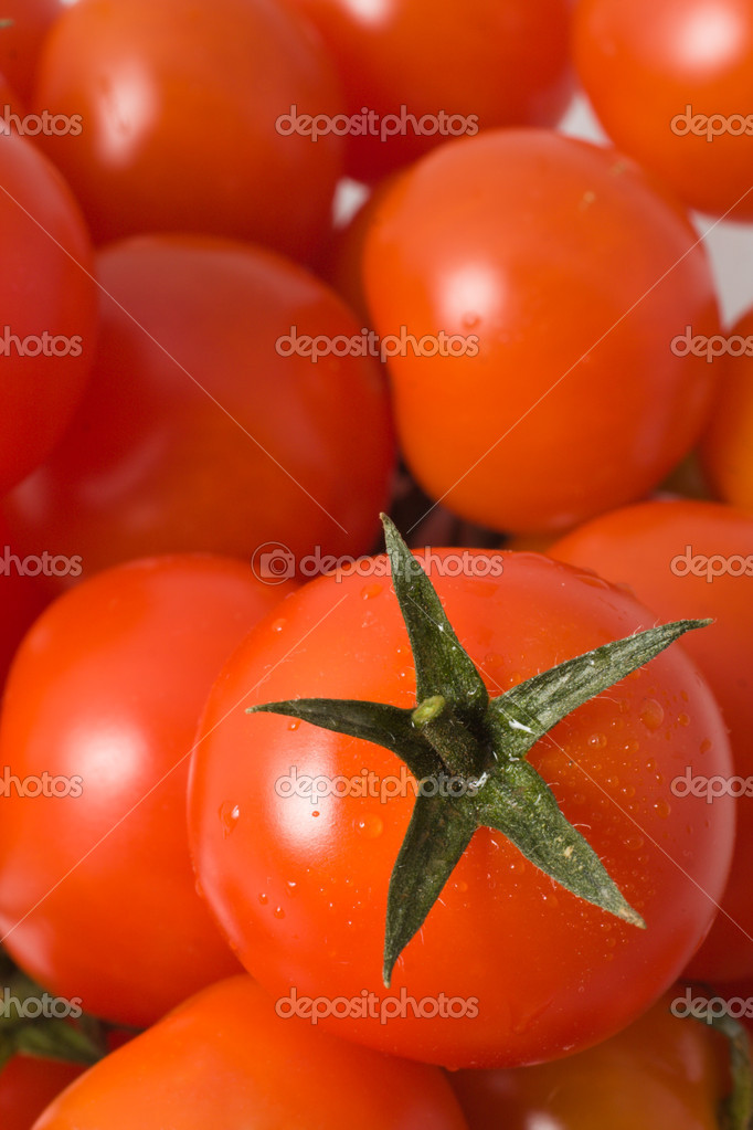 Mini tomatoes   Stock Photo #2573101