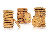 Chocolate Chip Cookie Collection — Stock Photo