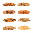 Japanese Rice Cracker Selection — Stok fotoğraf
