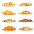 Junk Food Snack Collection — Stock Photo