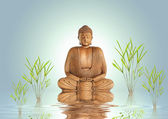 Buddha Tranquility — Stock Photo