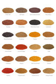 Spice Collection with Titles — Stock Photo