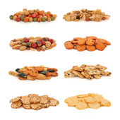 Japanese Rice Cracker Selection — Stock Photo