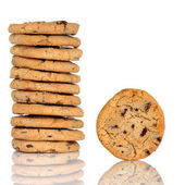 Chocolate Chunk Cookies — Stock Photo