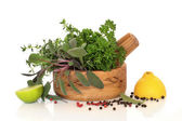 Herbs, Fruit and Spices — Stock Photo
