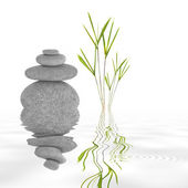 Zen Garden Tranquility — Stock Photo