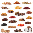 Fruit and Nut Collection - Foto de Stock  