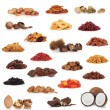 Fruit and Nut Collection — Stock Photo