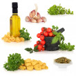 Italian Food Ingredients — Stock Photo #2615336