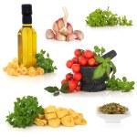 Italian Food Ingredients — Stock Photo