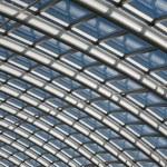 Konserwatorium rozpiętości dachu — Zdjęcie stockowe