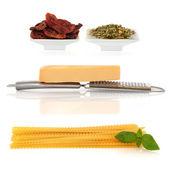 Pasta Ingredients — Stock Photo