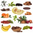 Super Food Sampler - Stock Photo