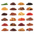 Royalty-Free Stock Photo: Dried Fruit Collection