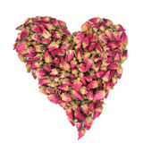 Rosebud Heart Beauty — Stock Photo