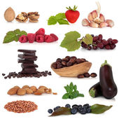 Healthy Food Sampler — Stock Photo