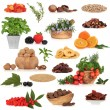 Stock Photo: Super Food Collection