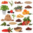 Super Food Collection - Stock Photo