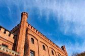 Old castle, Rzucewo, Poland. — Stock Photo