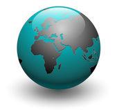 Earth globe vector — Stock Vector
