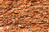 The weathered brick wall — Stock Photo