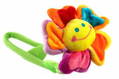 Smile flower toy — Stock Photo