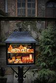 Amber stall in old city Gdansk, Poland — Stock Photo