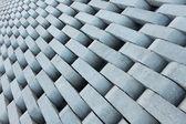 Текстура из серых бетонных кирпичей. — Стоковое фото